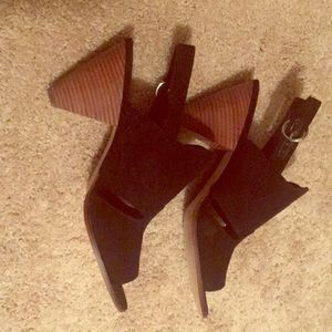 Nine West suede heels